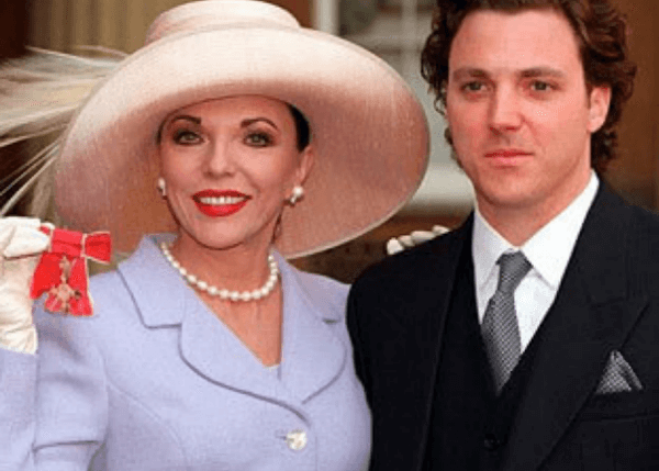 Joan Collins And Son