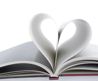 Book Pages In Heart Shape - Science Of Love